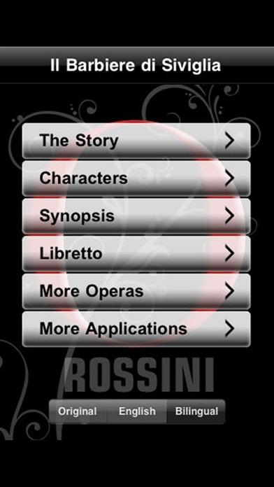 Opera: The Barber of Seville Barbiere di Siviglia