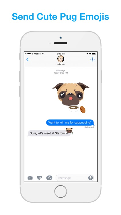 Pug Moji - Pug Emoji & Stickers screenshot-1