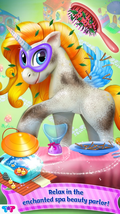 Pony Care Rainbow Resort - Enchanted Fashion Salon screenshot-3