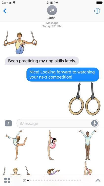 Gymnastics Sports Stickers