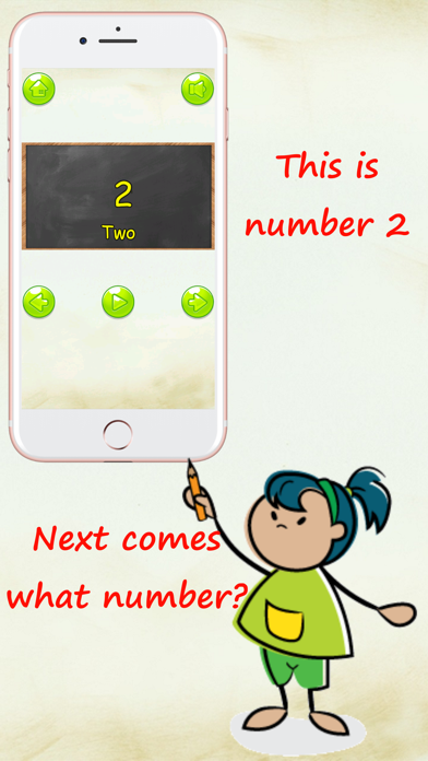 Let's learn! Numbers - count from 1 to 20 screenshot two