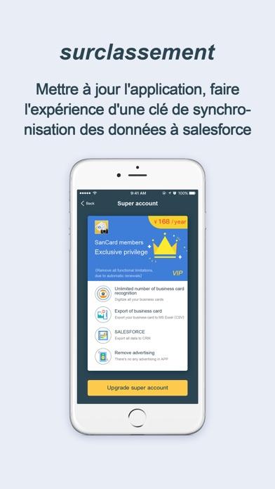 Carte De Visite OCR Scanner Pr App Screenshots