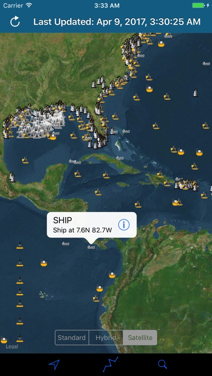 NOAA Buoy Stations & Ships (NDBC Observations) screenshot-0