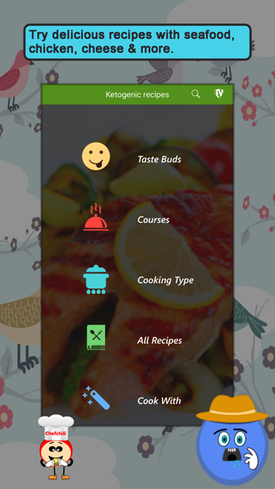 Ketogenic Diet SMART Recipes screenshot one