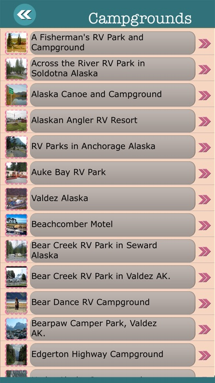 Alaska State Campgrounds & Hiking Trails screenshot-2