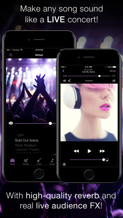 LiveTunes - Concert FX Player by Rockstar App Solutions, LLC (iOS