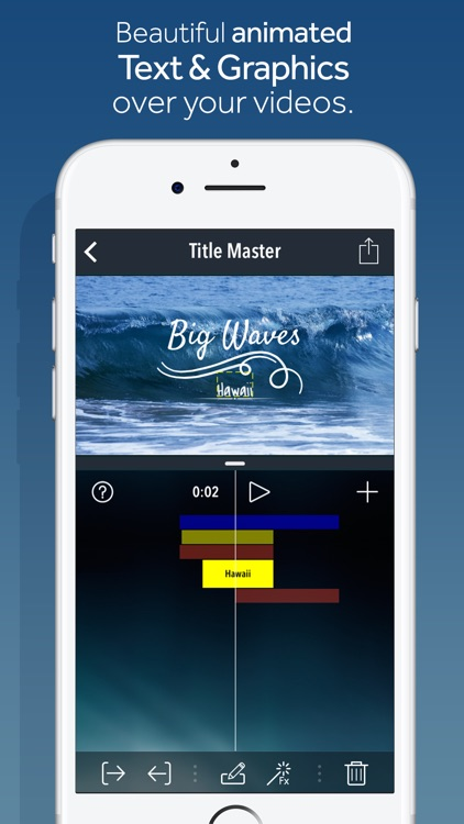 Title Master - Animated text and graphics on video screenshot-0