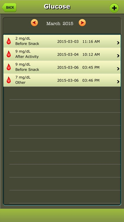 Diabetes Manager for iPad & iPhone screenshot-4