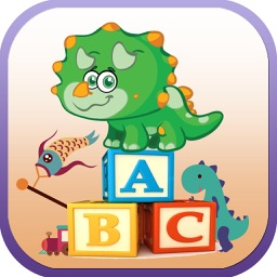 ABC Kids Games Words - Dinosaur Words Writing