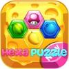 Hex fruit candy block : Hexa puzzle blast