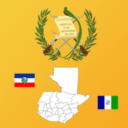 Guatemala Department Maps, Flags and Capitals