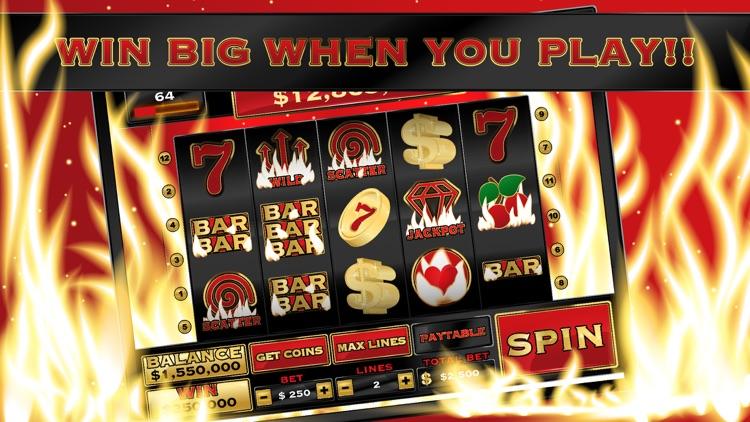 Burning Hot Inferno - Vegas Casino Slot Machine screenshot-4