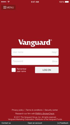 Vanguard On The App Store
