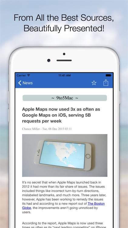 Clarus - Apple World News