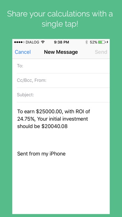 Screenshot #7 for Investment Calculator Pro