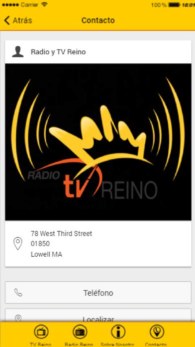 Radio y TV Reino screenshot four