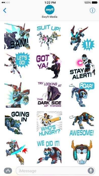 Voltron Stickers screenshot 3