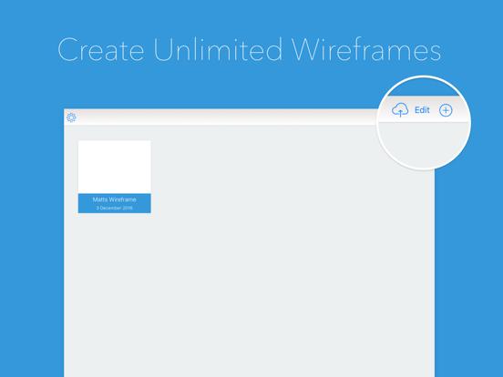 Wireframe Builder - Create Prototypes & Mockups screenshot one