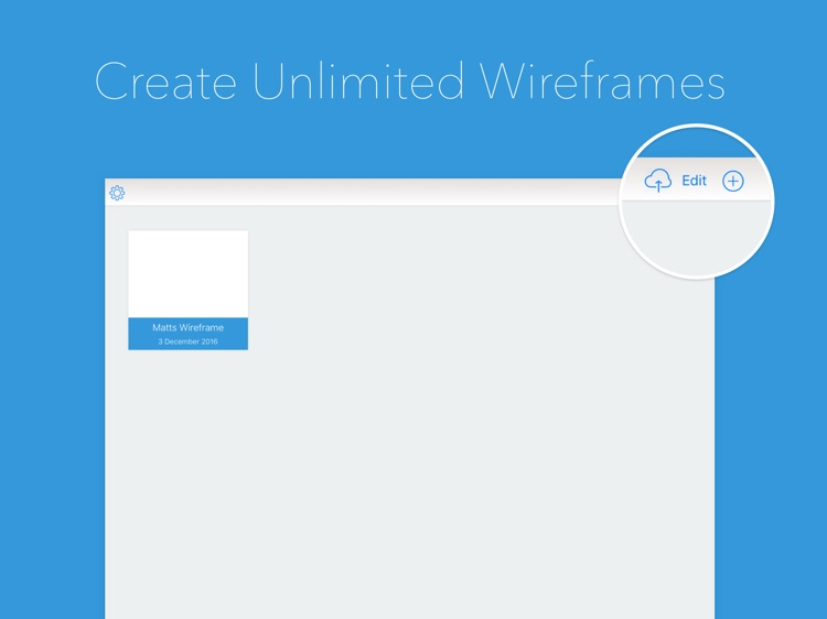 Wireframe Builder - Create Prototypes & Mockups