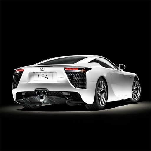 HD Car Wallpapers - Lexus LFA Edition