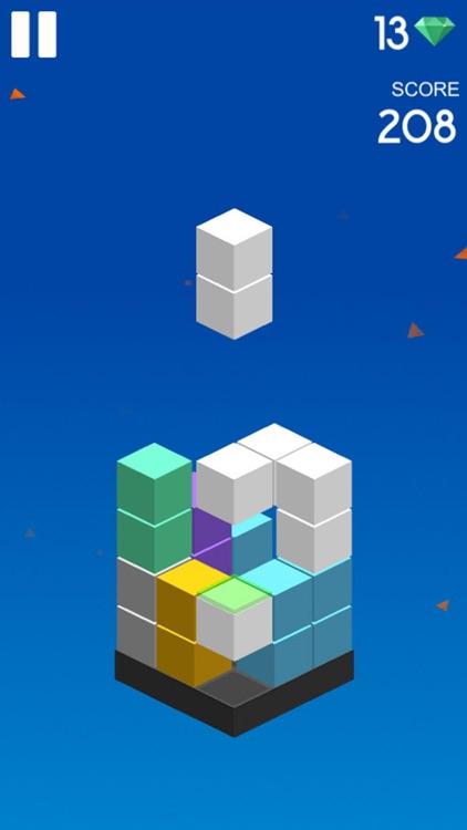 Magic color cube - 3D Block classic games screenshot-3