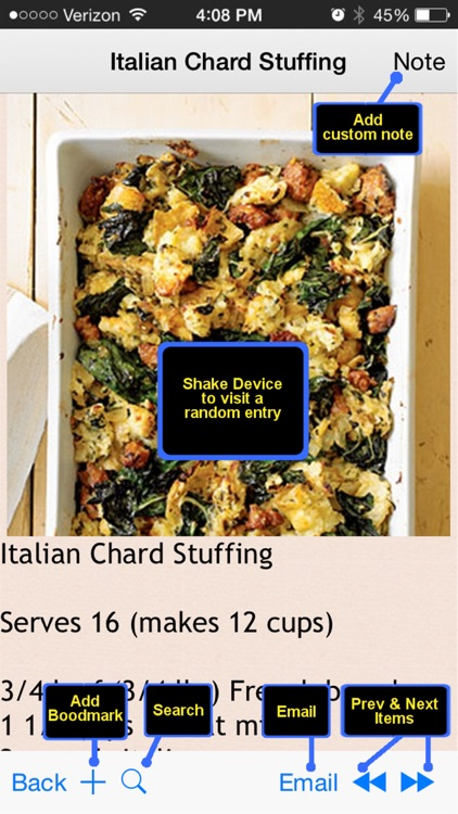 400 Stuffing Recipes