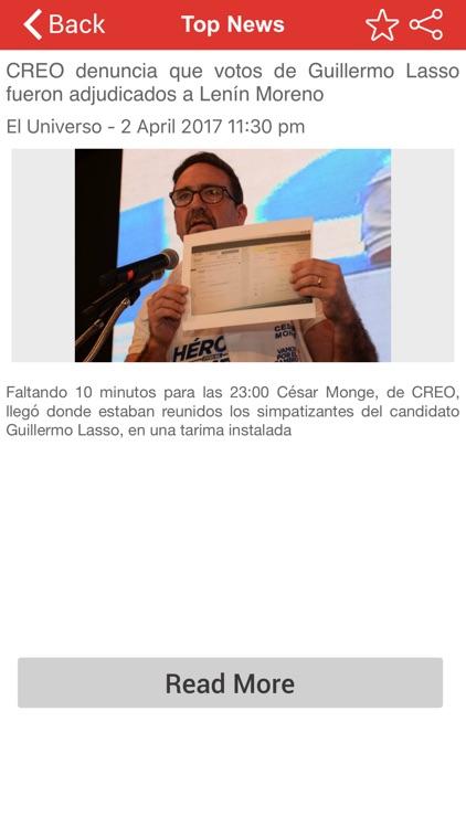 Top Ecuador News