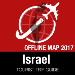 Israel Tourist Guide + Offline Map