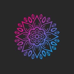 Mandalena - Create beautiful mandalas and mantras