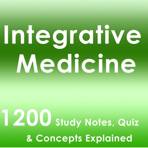 Integrative Medicine Test Bank App- Terms & Quiz