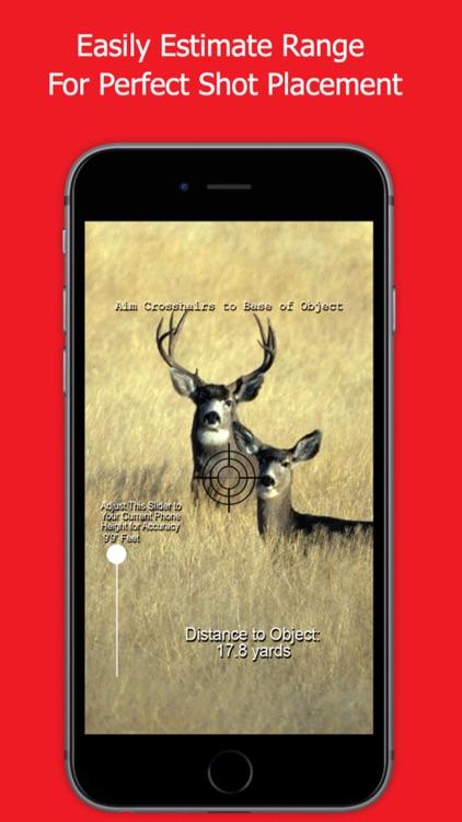 Whitetail Deer Hunting Range Finder for Hunting screenshot-3