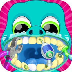 Baby Dragon Teeth Dentist Game