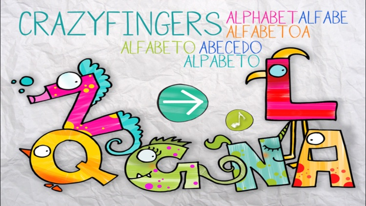 ABC Turutu Crazyfingers Alphabet screenshot-0