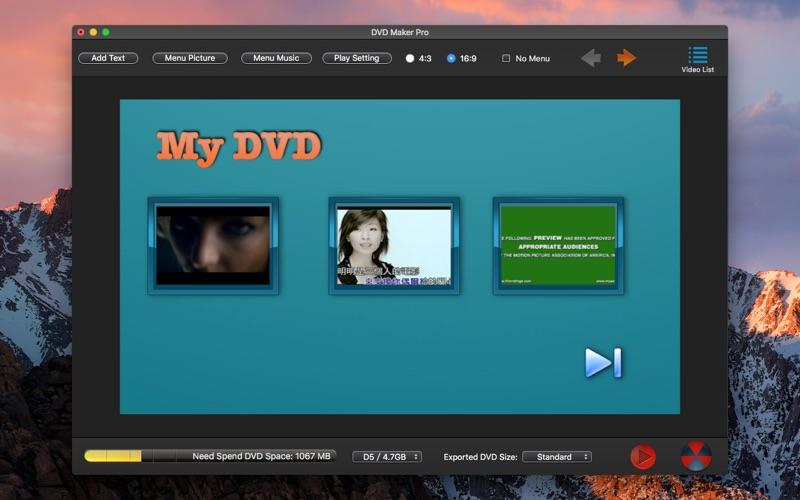 点击获取DVD Maker Pro-DVD Creator Burn
