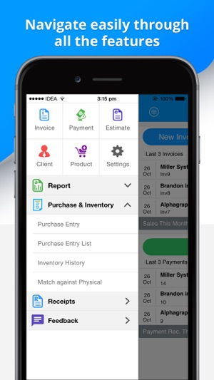 Invoice Pro Make Invoice Send Invoice Estimate On The App Store - How to make an invoice on iphone