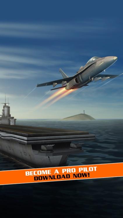 Flight Pilot Simulator: 3D Flying Games screenshot-3