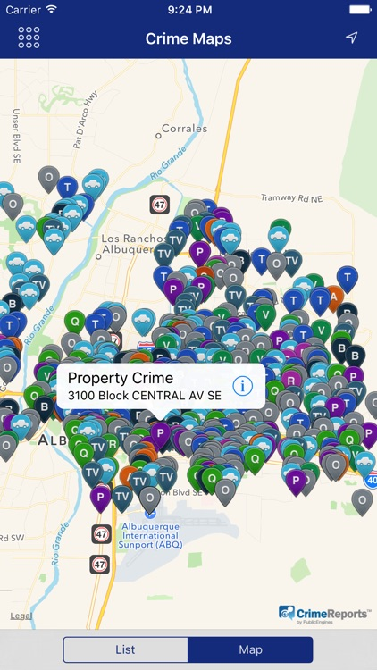 ABQPolice Mobile screenshot-4