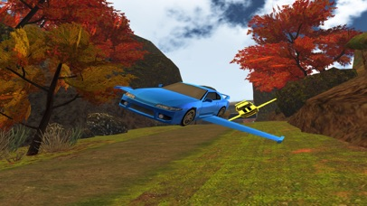 3D Flying Car VR Racing Simulator 2017 screenshot 4