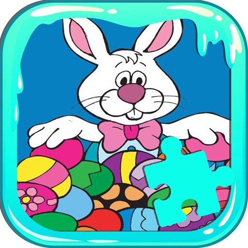 Jigsaw Puzzles For Kids Games Easter Day Version app logo
