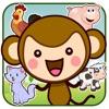 皮皮猴认动物:动物园世界儿童游戏2岁