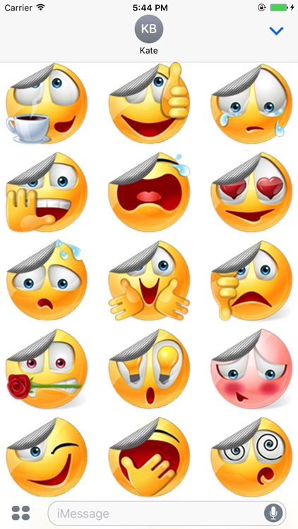 Stickered Smileys for iMessage