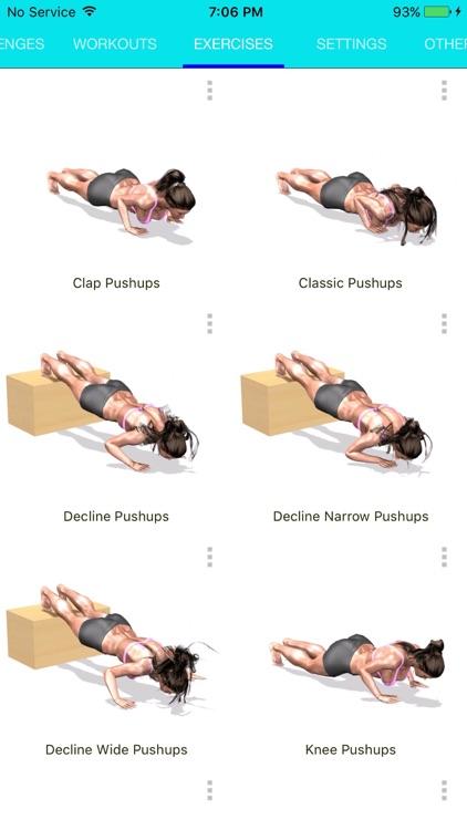 Chrono PushUps: 3D Trainer screenshot-4
