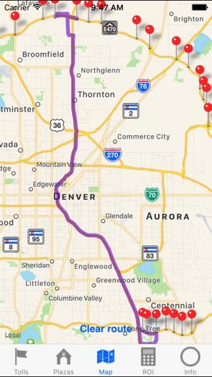 Denver E-470 Toll Road 2017 im App Store
