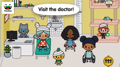 Screenshot for Toca Life: Hospital in United States App Store
