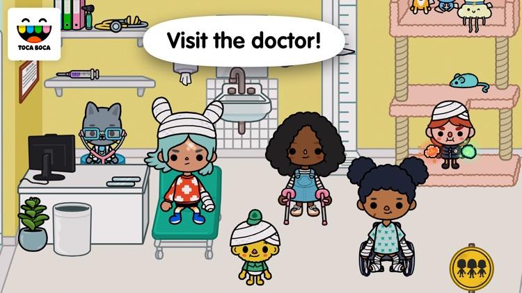 Toca Life: Hospital app image