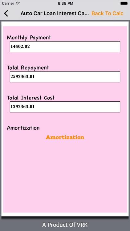All Loan Calc