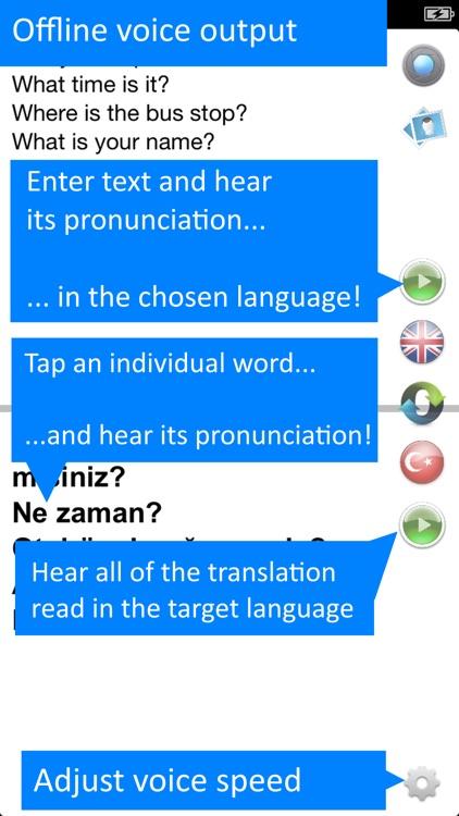 Offline Translator Turkish Pro screenshot-3