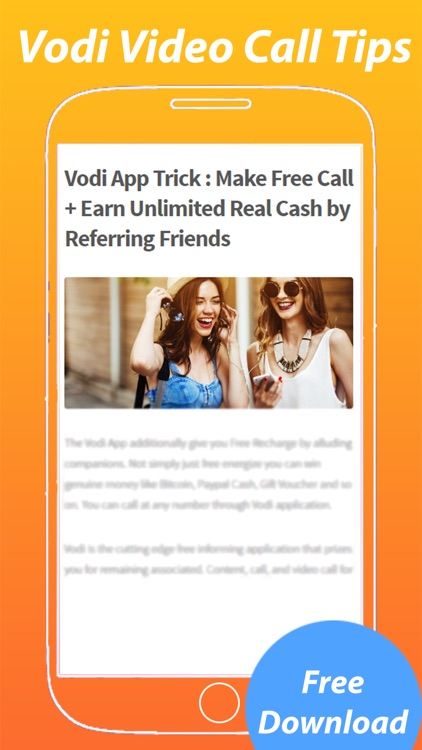 Guide for Vodi Video Calling Tips