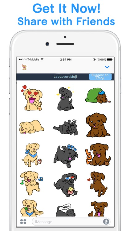 LabLoversMoji - Labrador Retriever Emoji Stickers screenshot-4