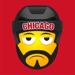 Chicago Hockey Stickers & Emojis